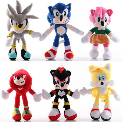 2020 Sonic the Hedgehog Sonic Plush Toy Stuffed Doll Kids Cute Exclusive Gifts