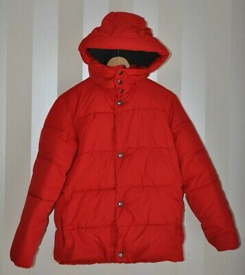 Boys Gap Kids Detachable Hooded Puffa Jacket, Size L Regular, Red