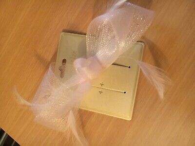 Accessorize Fascinator Pale Pink Hair Clip, only used for 20 mins.