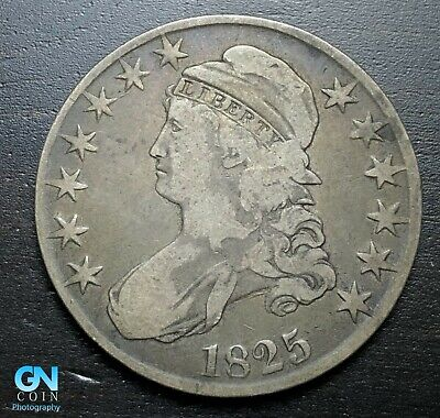 1825 Capped Bust Half Dollar  --  MAKE US AN OFFER!  #P7264