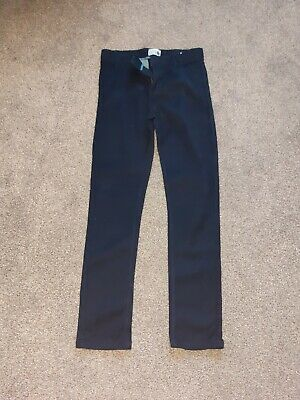Boys Smart Navy Trousers Jeans MATALAN Age 13 Years