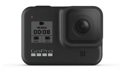 Brand New GoPro HERO8 Black-4K60 Ultra HD + Duel Battery Charger & Extra Battery