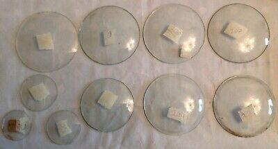 Clock Glass Round Convex Various Sizes Job Lot Ex Clockmakers Spare Parts Ref 3
