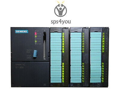 Siemens Simatic S7 300 CPU 314 komplett SM321 SM322 DI DO SPS PLC Paket Set Kit