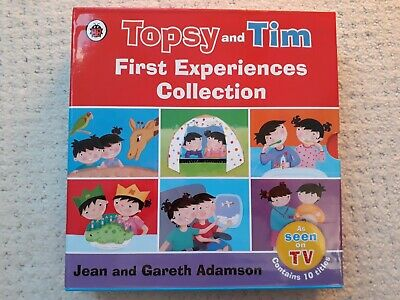 Topsy and Tim First Experiences Collection 10 Books Box Set + 1 extra paperback