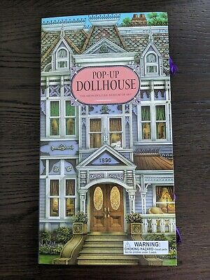 Metropolitan Museum of Art Pop Up Dollhouse Victorian MSRP $24.95 *NEW*