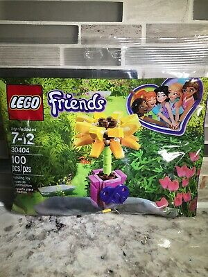 Lego Friends 30404 Friendship Flower 100 Pcs New Polybag Sealed Lot Of 3!!