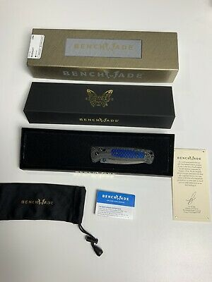 NEW Benchmade Gold Class 535-191 Limited Bugout Damasteel Blade Carbon Fiber