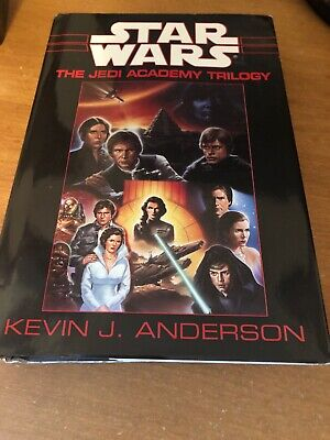 Star Wars The Jedi Academy Trilogy Hardcover SFBC 1994 By Kevin J. Anderson