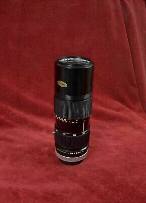 Canon FD 80-200mm F4 MF Zoom lens full frame Ae1 A1 F1 T90