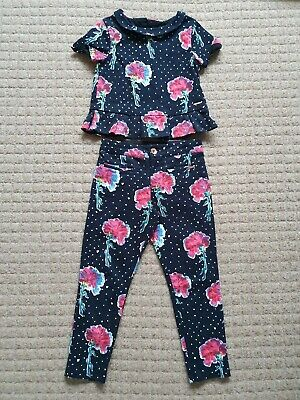 Girls Autograph Age 6-7 Years Marks & Spencer Top & Trousers Outfit