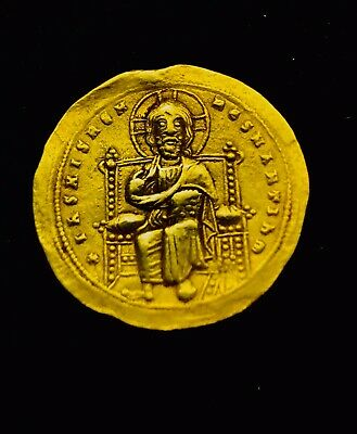 ANCIENT BYZANTINE GOLD COIN About Extremely Fine.  Romanus Ill Argyrus 1028-1034