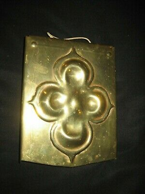 Arts and Crafts Antique Brass / Copper Heavy Dinner Gong