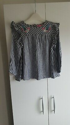 joules girls blouse top age 6