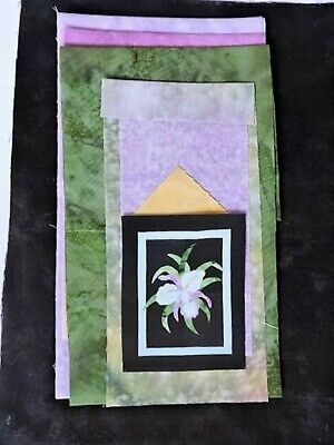 Fantasy Flowers Quilt Kit 13 Blocks  Block of the Month to Finish
