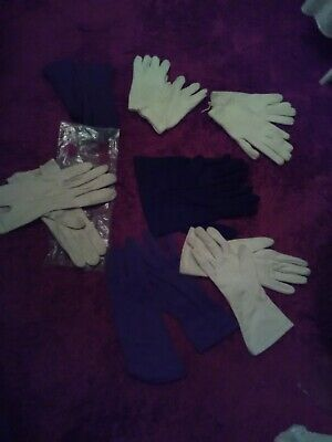 7 pairs of assorted ladies vintage gloves. St Michael ,Dents , Prova. Free pxp