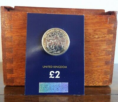 2020 Agatha Christie £2 TWO POUND Brilliant Uncirculated Coin - NEW