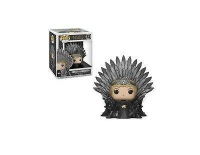 Funko Pop! Cersei Lannister Iron Throne Game of Thrones HBO TV in Box