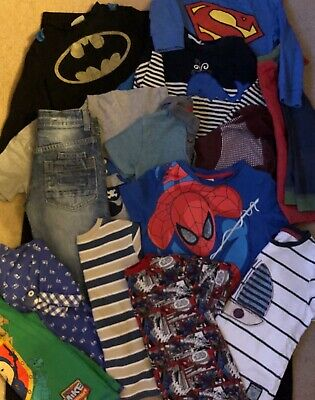Boys 2-3 Years Bundle Tops, T-shirts, Jeans, - Next, Marvel, Jojo, Tu, Nutmeg