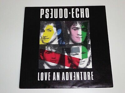 "Pseudo Echo  Love An Adventure (Uk Issue)  7"" Single Record 1985"