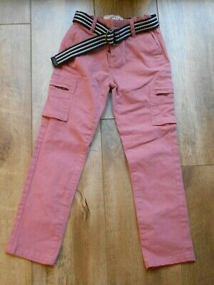 Girls Dusky Pink trousers Age 7 years FAT FACE