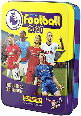 Panini's Football 2020 Official Premier League Sticker Collection Pocket Tin NEW