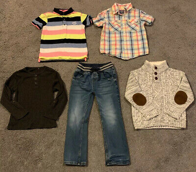 Bundle Of Boys Clothes, 5 Items, Age 5-6 Years, TU, GEORGE And Primark
