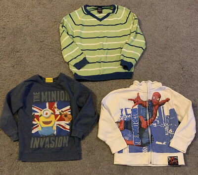 Small Bundle Of Boys Clothes, 3 Items, Age 4-5 Years, NEXT And NUTMEG