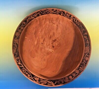 Hand Crafted wooden large Bowl - Signed - Date Created 1995