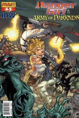 Danger Girl and the Army of Darkness #3 Cover B in NM. Dynamite comics [*61]