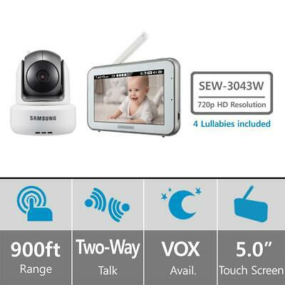 Samsung SEW-3043W BRIGHTVIEW BABY VIDEO MONITORING (1 x Monitor & 2 x camera)