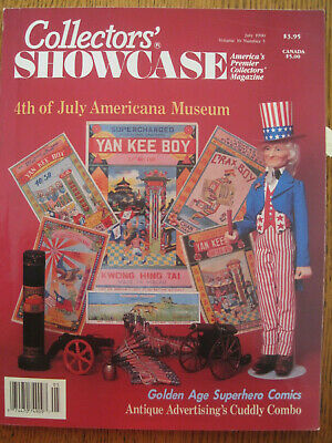 July 4th Collectibles Vintage Firecracker Fireworks 1990 Collector Mag Manochio