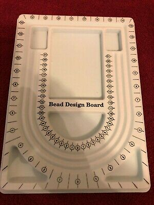 Flocked Bead Board Jewelry Design Board for Necklace and Bracelet Beading NEW