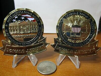 President Donald Trump White House Make America Great Again POTUS Challenge Coin