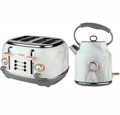 Tower Marble Kettle & Toaster Set ***New***