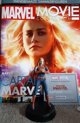 MARVEL MOVIE COLLECTION #23 Captain Marvel Figurine (Captain Marvel) EAGLEMOSS d