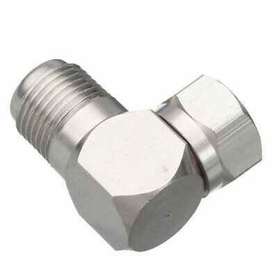 5pcs 90 Degree Right Angle F Type Male Plug to Female Socket F Type Elbow