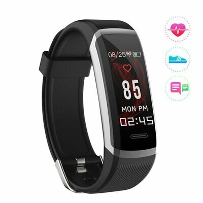 Pedometer Sport Smart Watch Heart Rate Monitor Fitness Sleeping Tracker Bracelet