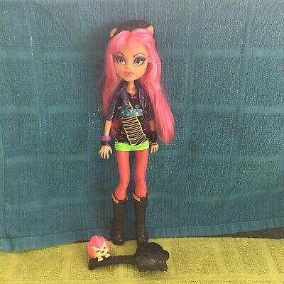 Monster High Howleen Wolf And Pet Very Good Condition