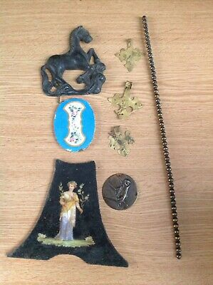 Antique Clock Decorations And Embellishment Parts Ex Clockmakers Collection