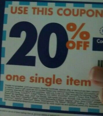 BED BATH & BEYOND Coupon ~  20% off 1 Item ONLINE ~ Exp 3/17 = Fast Delivery!