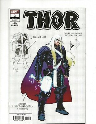 Thor #2 (2020) Nic Klein Variant Cover very fine/near mint (VF/NM) condition