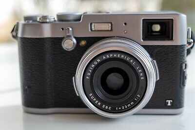 Fujifilm X100T Digital Camera in great condition with extras