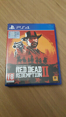 Red Dead Redemption 2 PS4 PlayStation 4 italiano