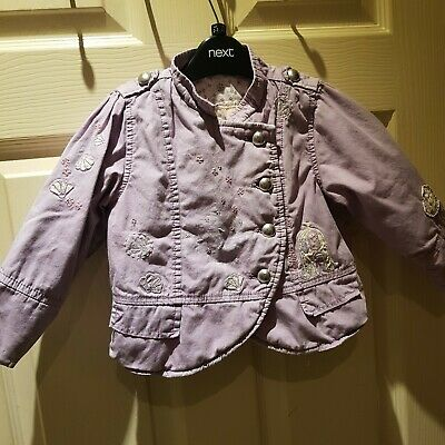Pretty NEXT Lilac Spring Jacket Age 2-3 Years