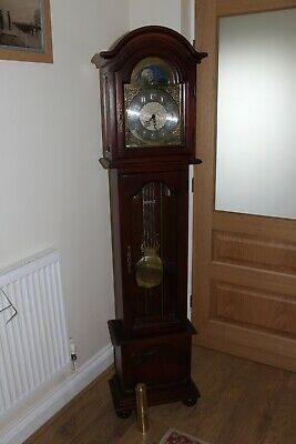 TOP QUALITY TRIPLE CHIME GRANDMOTHER CLOCK, MOONPHASE ,from Soames of Manchester