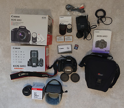 *New Tried* Canon 600D Eos Digital Camera With Extras *Tried Once, Box Opened*