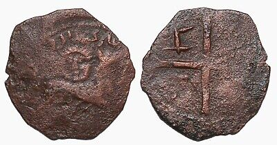 Great Mongols ilkhans AE Fals lion and sun Cross Rare unpublished type !