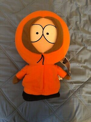 """South Park 14"""" Kenny McCormick Plush Stuffed Toy 2008 Comedy Central GUC. W/tags"""