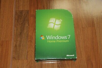 Microsoft Windows 7 Home Premium Retail/Box-Vollversion mit DVD 32+64 Bit + Key